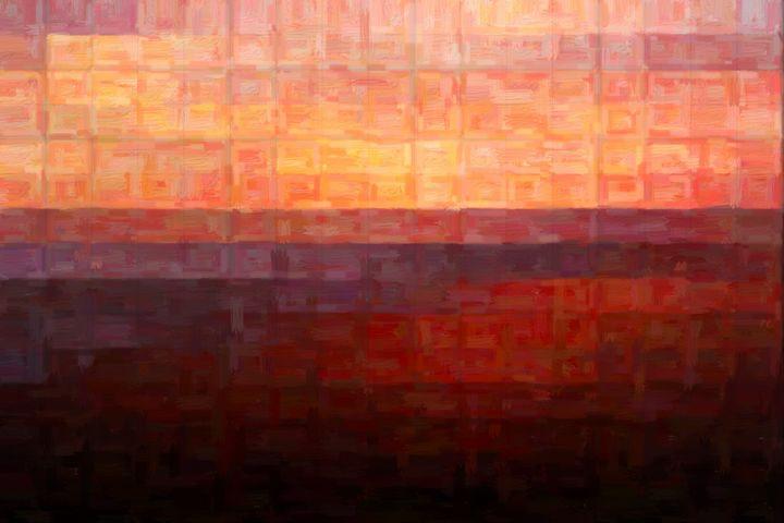 San Clemente Sunset - David J Hansen Modern Art