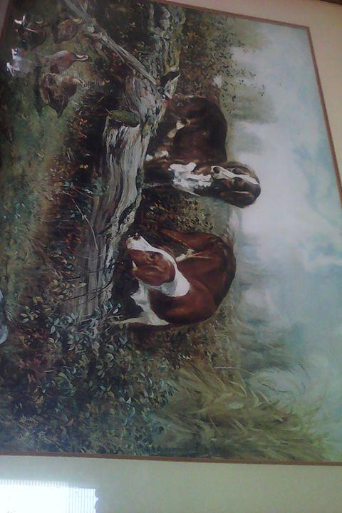 hunting dog quails -  Cblicks2020