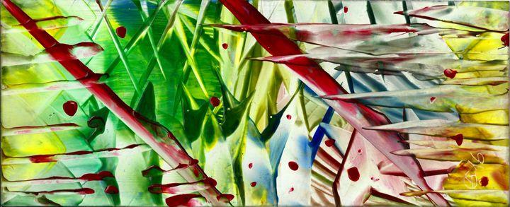At War - Angela Egwim - Heart Art