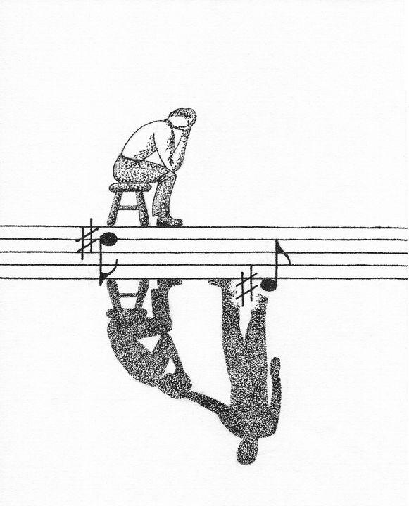 The Shadow of Sorrow - Wonderfully Composed LLC