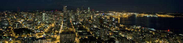 Downtown Seattle Night - MurdokX