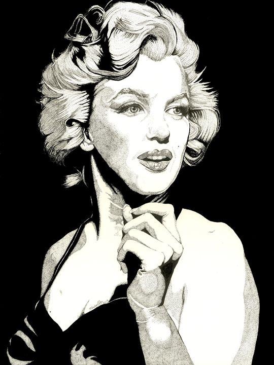 Marilyn Monroe - Mitch Masullo