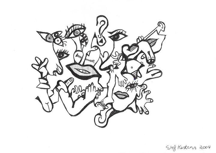 Human distraction - Stef Kestens Art Gallery