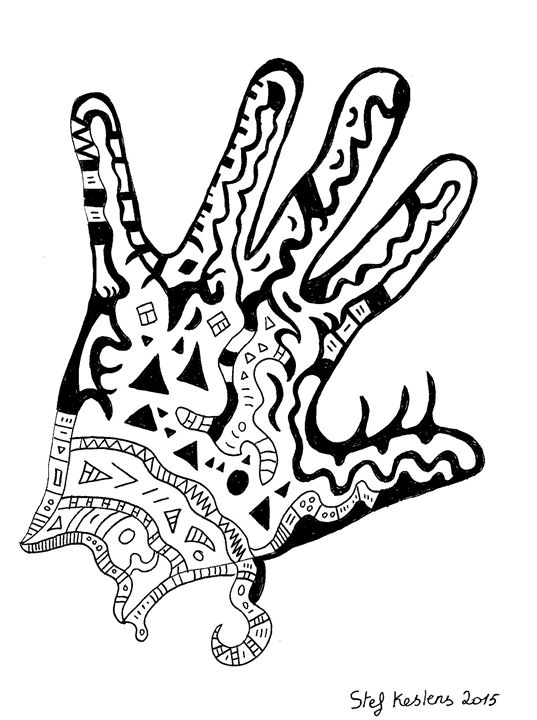 Hand of Jewel - Stef Kestens Art Gallery
