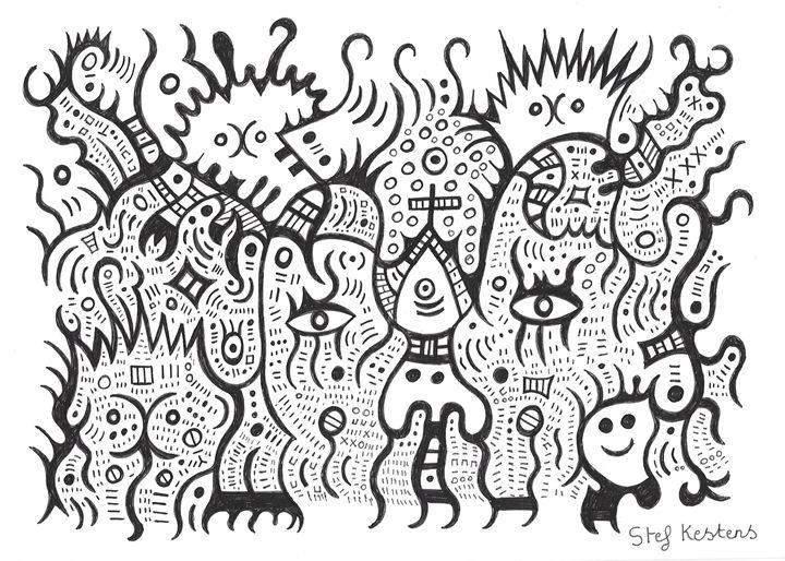 CATS - Stef Kestens Art Gallery