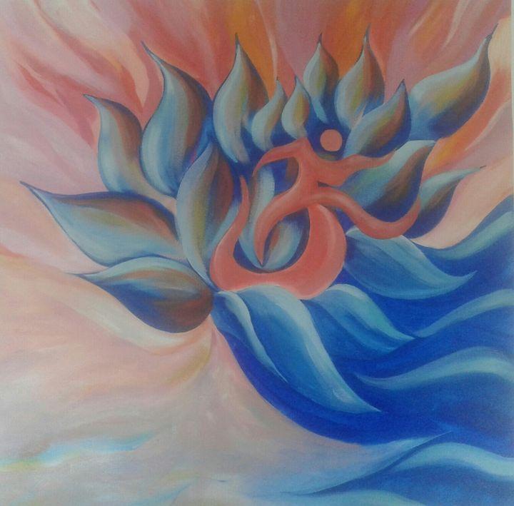 Lotus Mesaage - Artist Subash