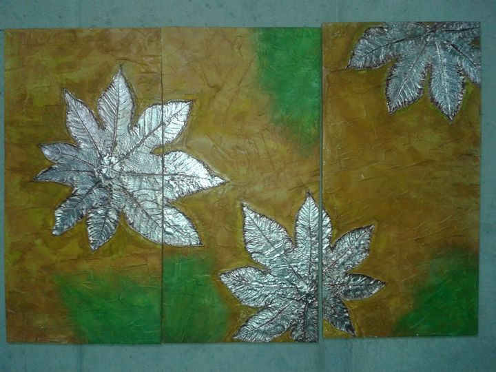 """Silver Leaves"" pic 2 of 7 - Light/Luz"