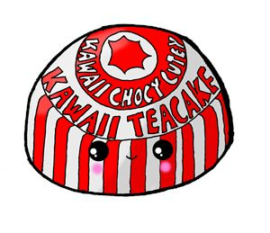 Kawaii Cute Teacake (Tunnocks) Glasg