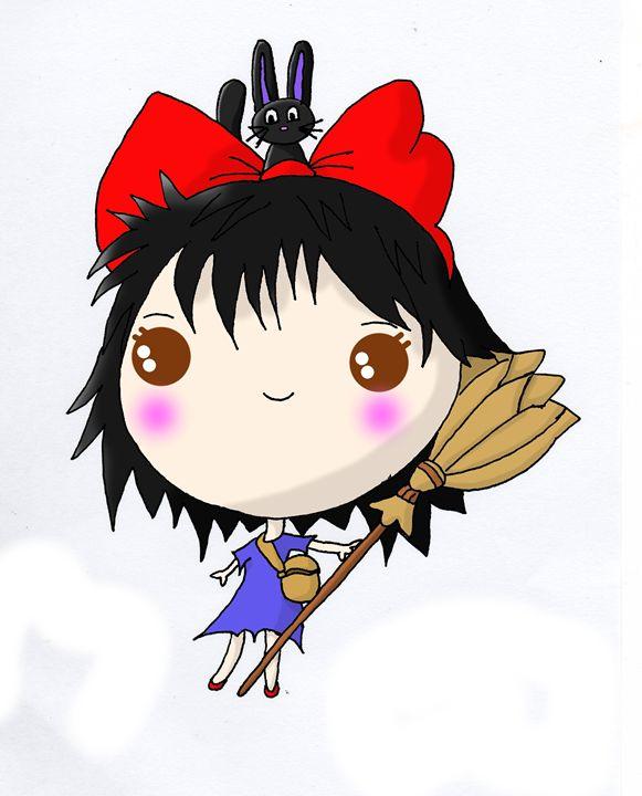 Kawaii Chibi Kiki - Screamingpillow