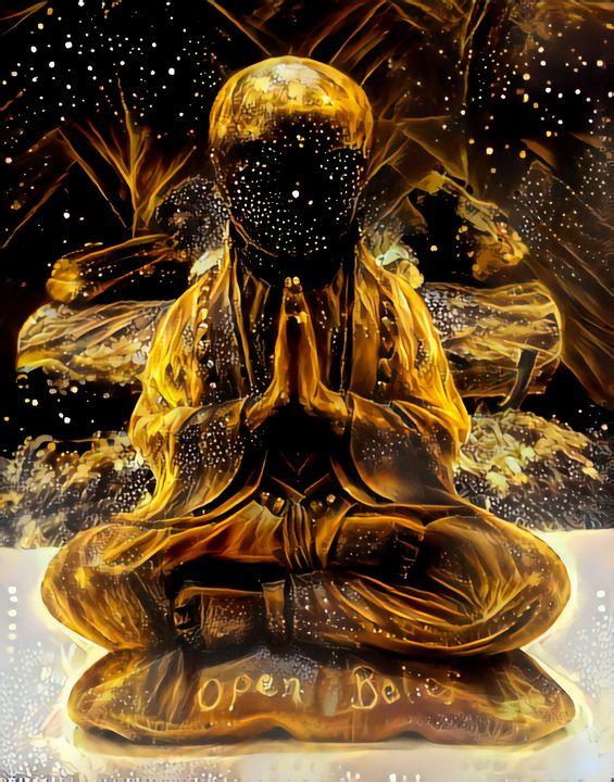 Open Belief Buddha - Artsyck