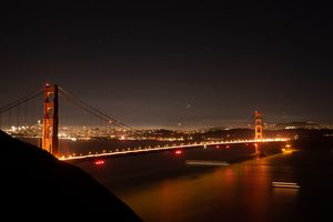 Starry Night, Golden Bridge