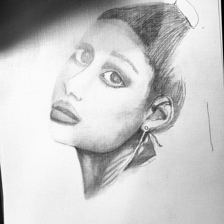 Ariana - Pinkalucious Art Form