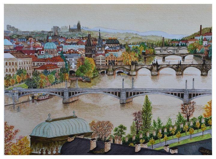 Prague is dream - ArtByArun
