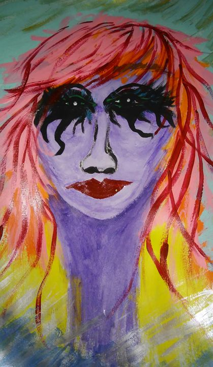 Purple face - Tracie Maciotok