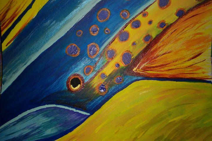 Blue fish - Tracie Maciotok