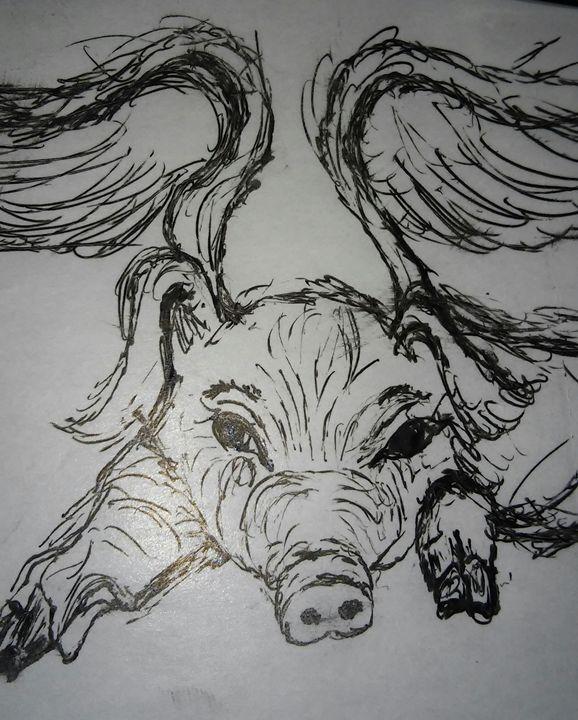 Little piggy little piggy - Tracie Maciotok