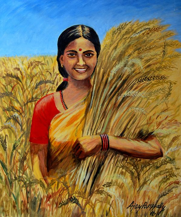 Happy of Harvest - Ajayparippally