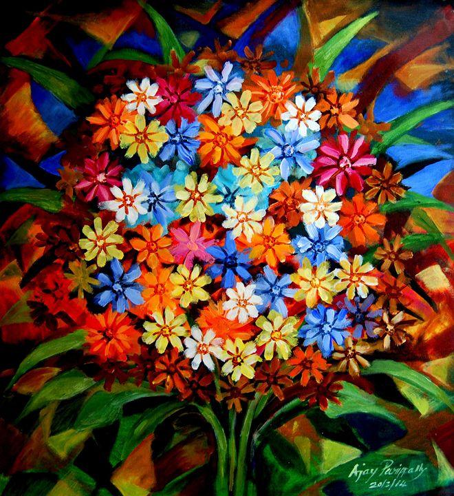 Bunch of Flowers - Ajayparippally