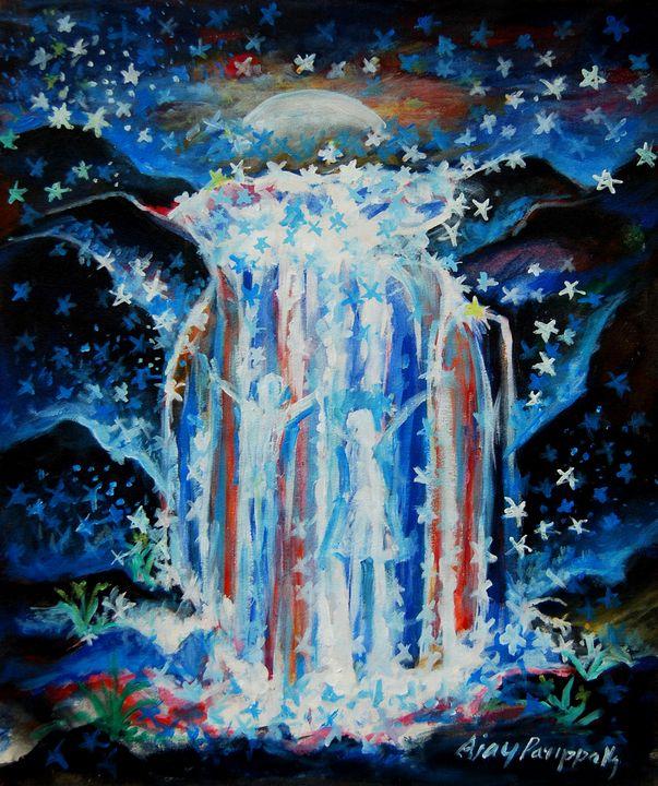 Day dreams the waterfalls - Ajayparippally