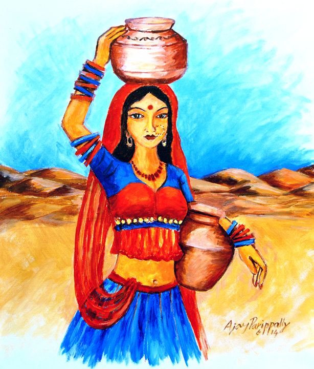 Village Girl - Ajayparippally