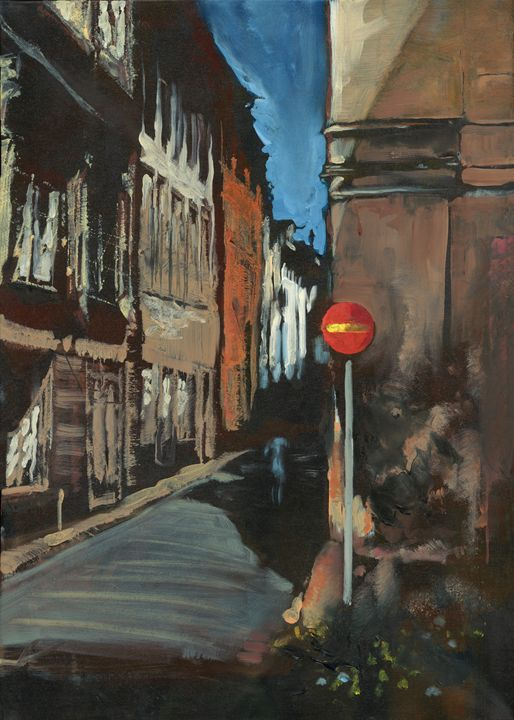 Spanish Alleyway - Jeremy Pusey