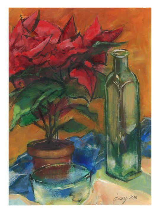 Floral Study - Jeremy Pusey