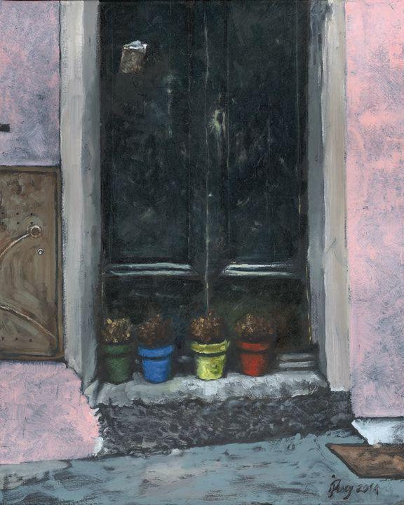 Cinque Terre Porch - Jeremy Pusey