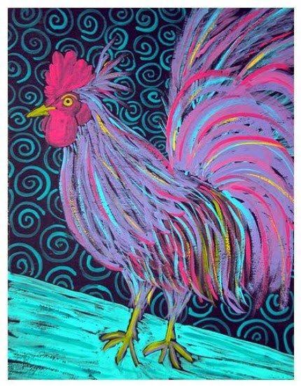 neon hen - Tutukombo