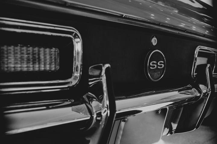 Classic Camaro SS - Anita McLeod Photography