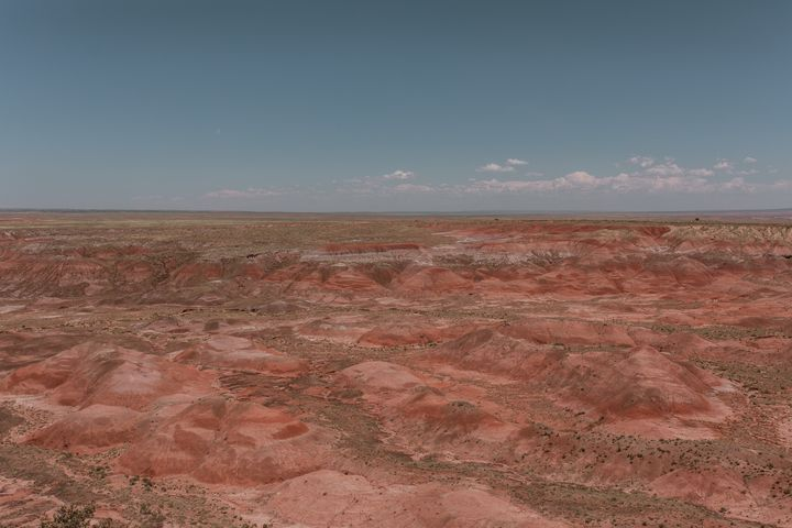 Painted Desert Hills - Anita McLeod Photography