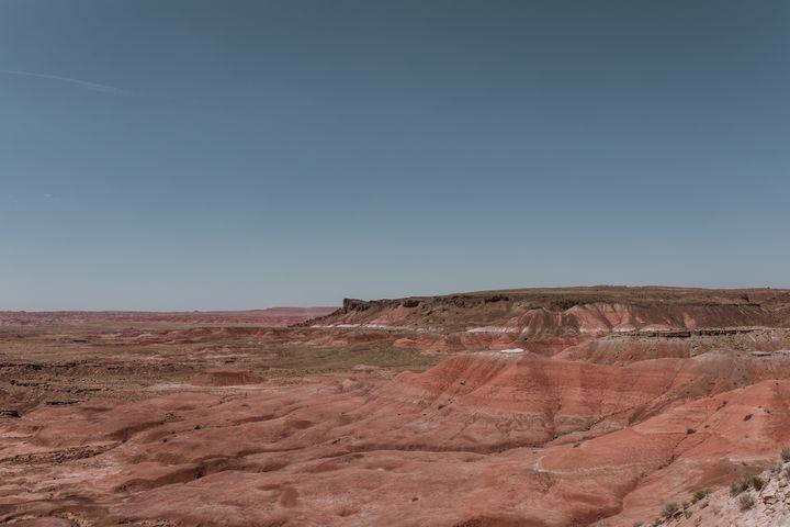 Mesa in the Painted Desert - Anita McLeod Photography