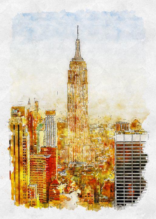 Empire State Building - BentenArtPrints