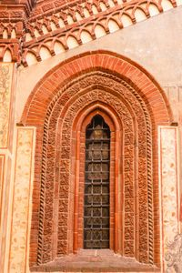 window of gothic style