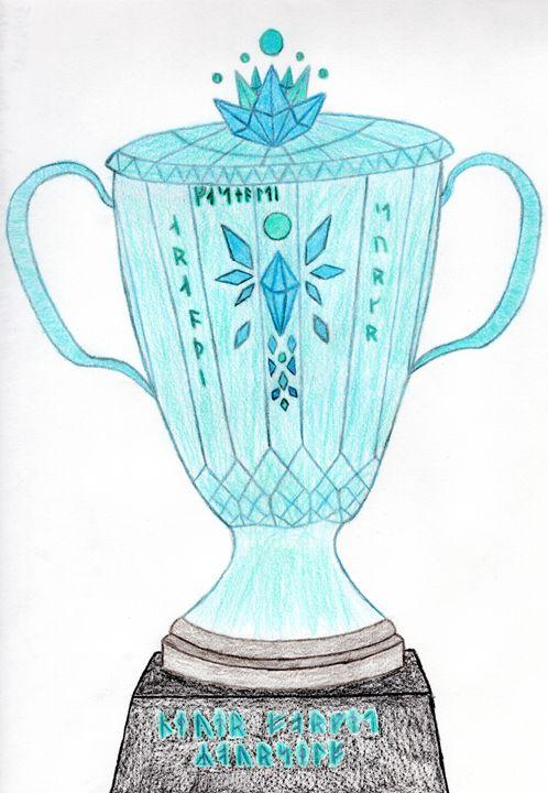 Crystal Trophy of Triumph - Wolfe