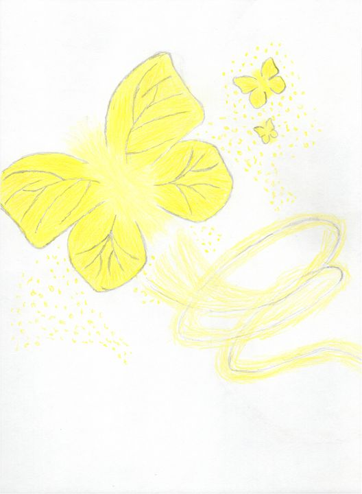 Flight of The Shining Butterfly - Wolfe