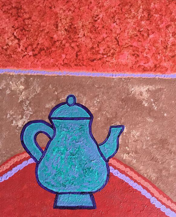 Teapot on the table - Giart