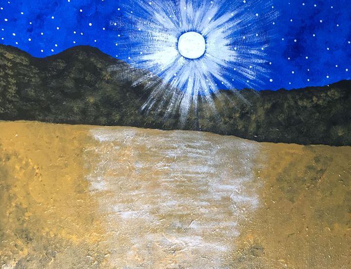 Night in the desert - Giart