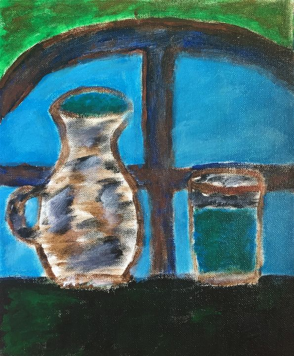 Jug and glass of water - Giart