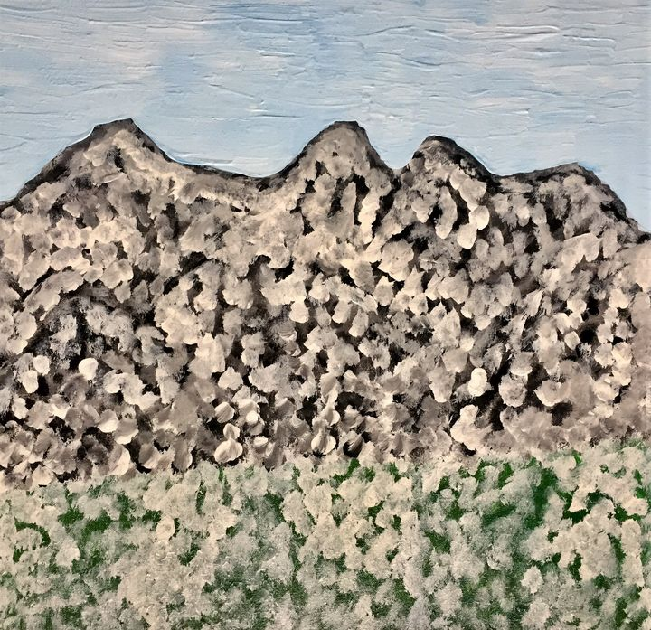 Snow in the mountains - Giart