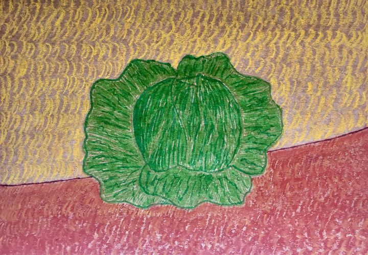 Still life with cabbage - Giart
