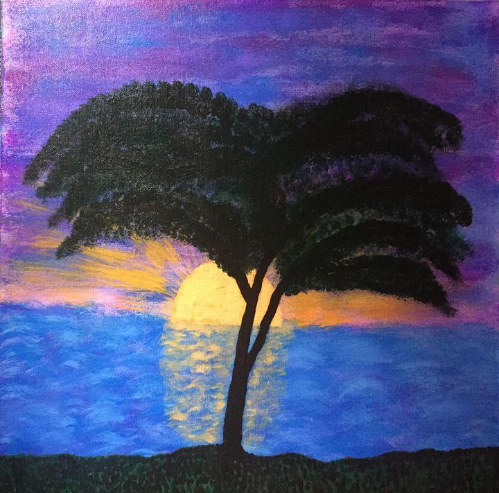 Purple Sunset - Giart