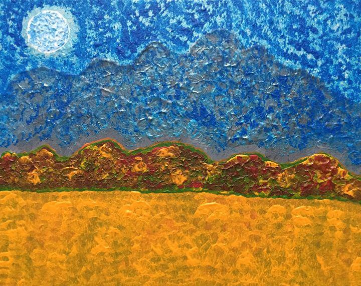 Autumn night - GI ART
