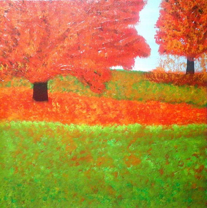 Autumn Trees - Giart