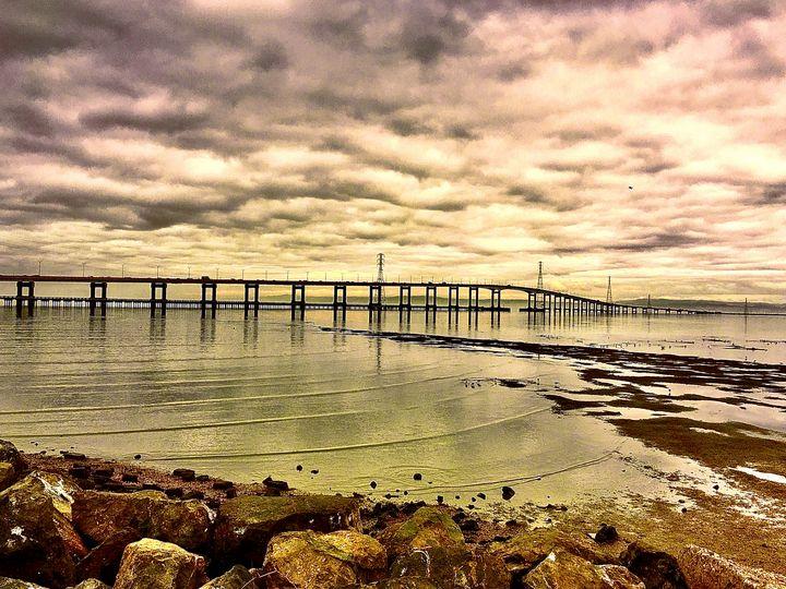 A Less Frequented Bridge View, CA - Sara Anne Love