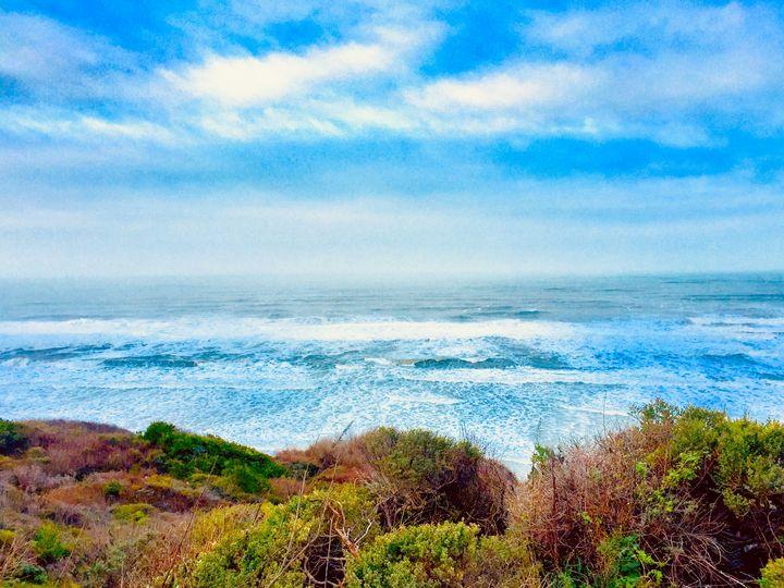 Nautical Endless Bonnie Blues, CA - Sara Anne Love