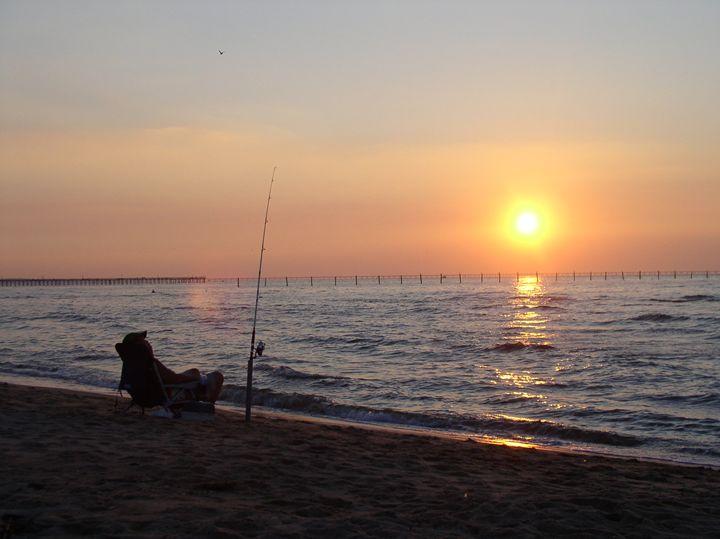 Sunset Fishing - Ben Salomonsky Photographic Designs