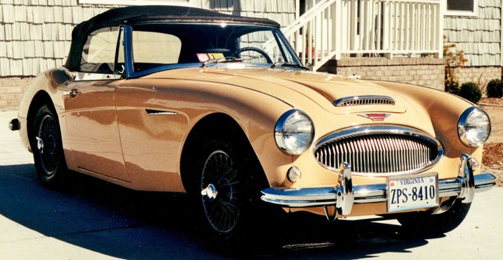1963 Austin-Healey 3000 Mark II - Ben Salomonsky Photographic Designs