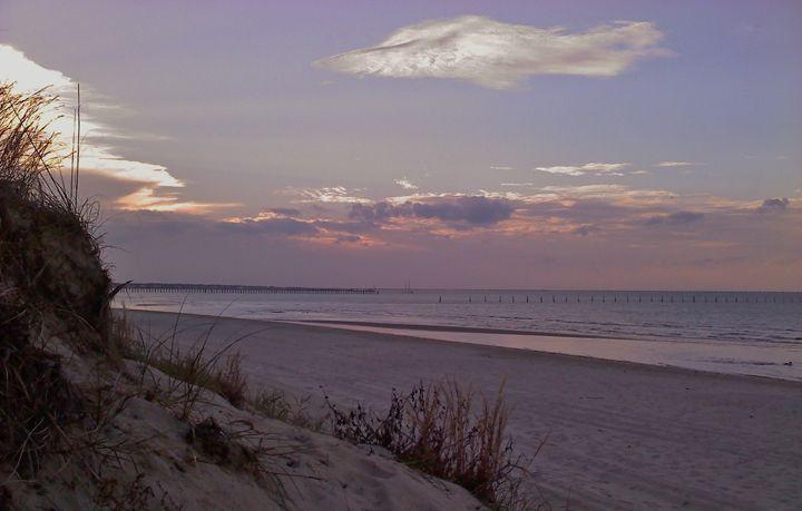 Evening Dunes - Ben Salomonsky Photographic Designs