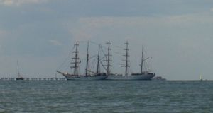 Tall Ship Skyline