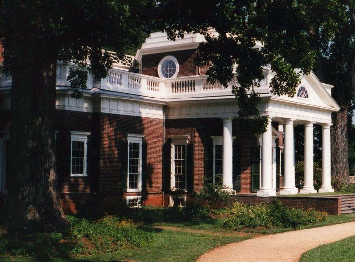 Mr. Jefferson's Abode - Ben Salomonsky Photographic Designs